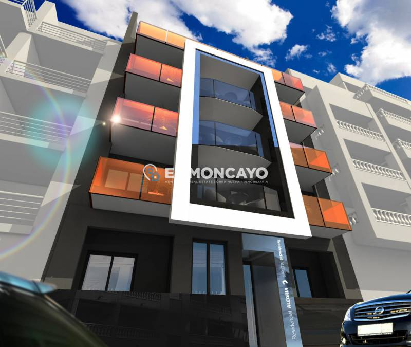 Apartments - New build - Torrevieja - Centro