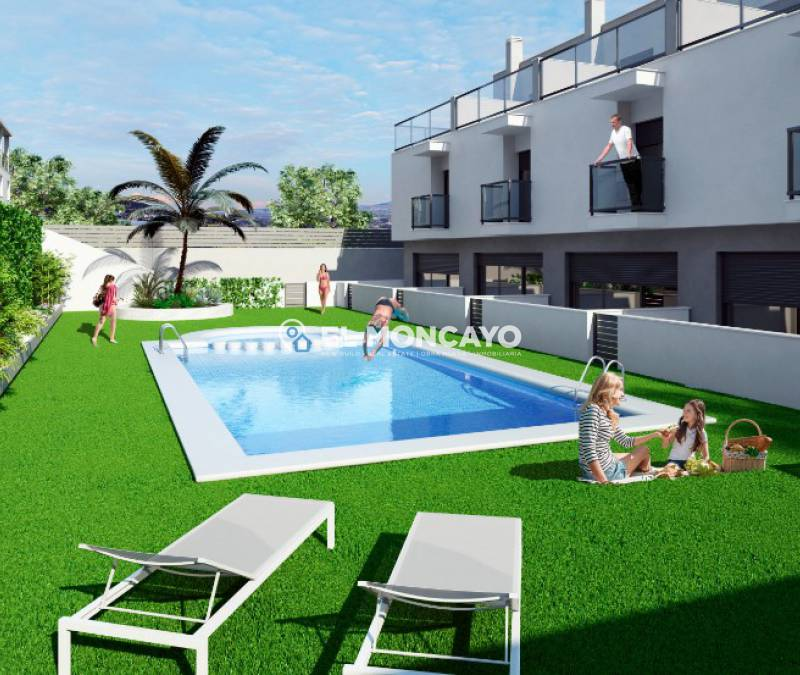 Bungalow - New build - Santa Pola - Alicante