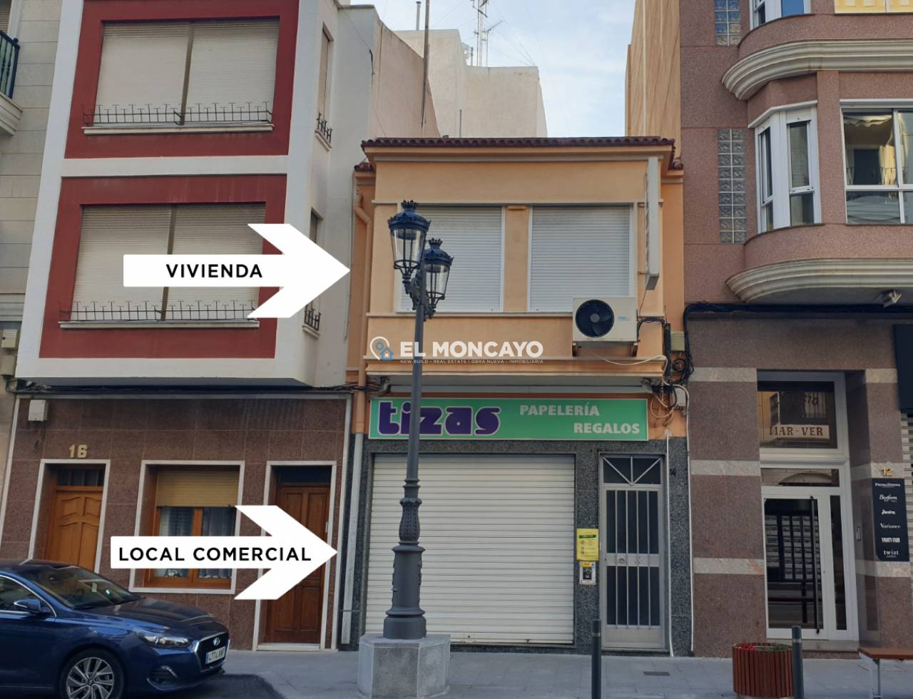 Business premises - Long Term Rentals - Guardamar del Segura - Center