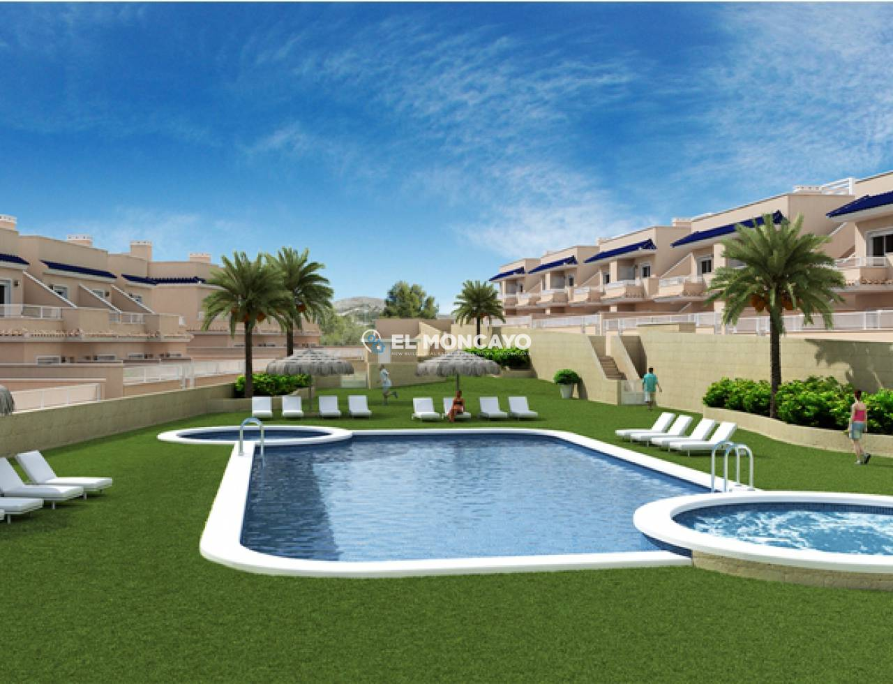 New build bungalow in Punta Prima - Orihuela Costa - Costa Blanca south 138 (16)