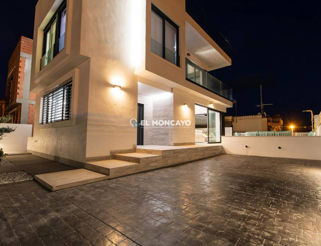 New build - Villa - Guardamar del Segura - Beach