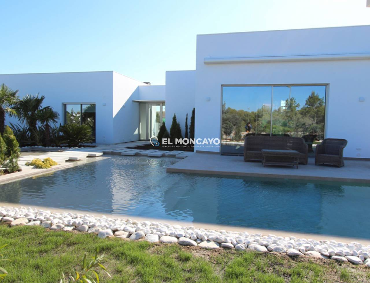 New build villa in Orihuela Costa - Villamartin - Golf course (1)