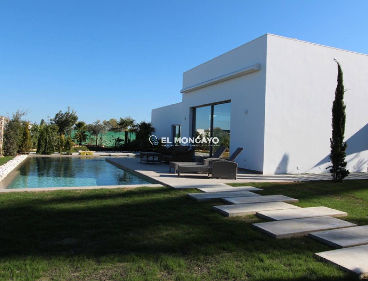 New build villa in Orihuela Costa - Villamartin - Golf course (2)
