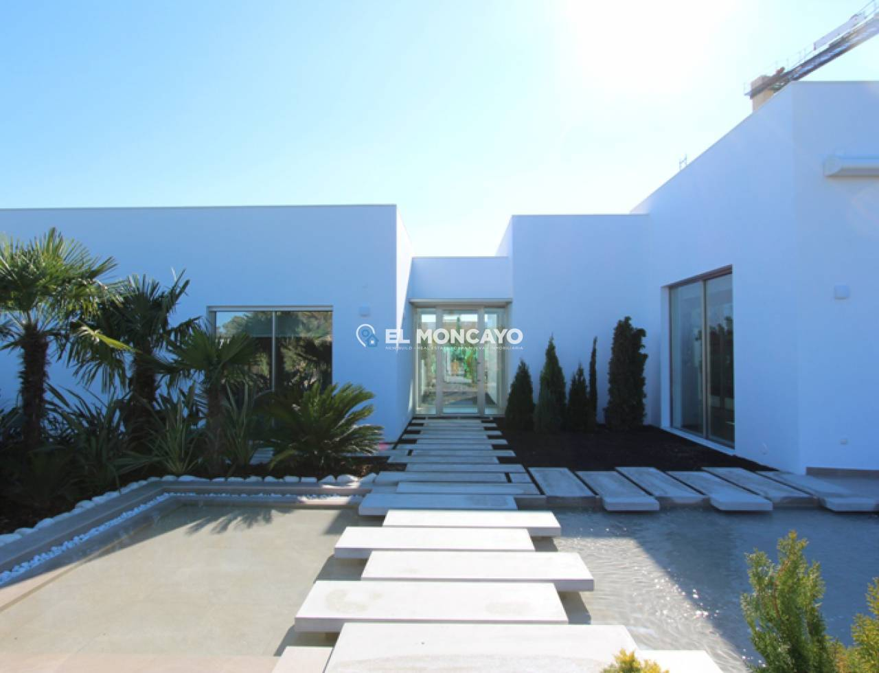 New build villa in Orihuela Costa - Villamartin - Golf course (4)