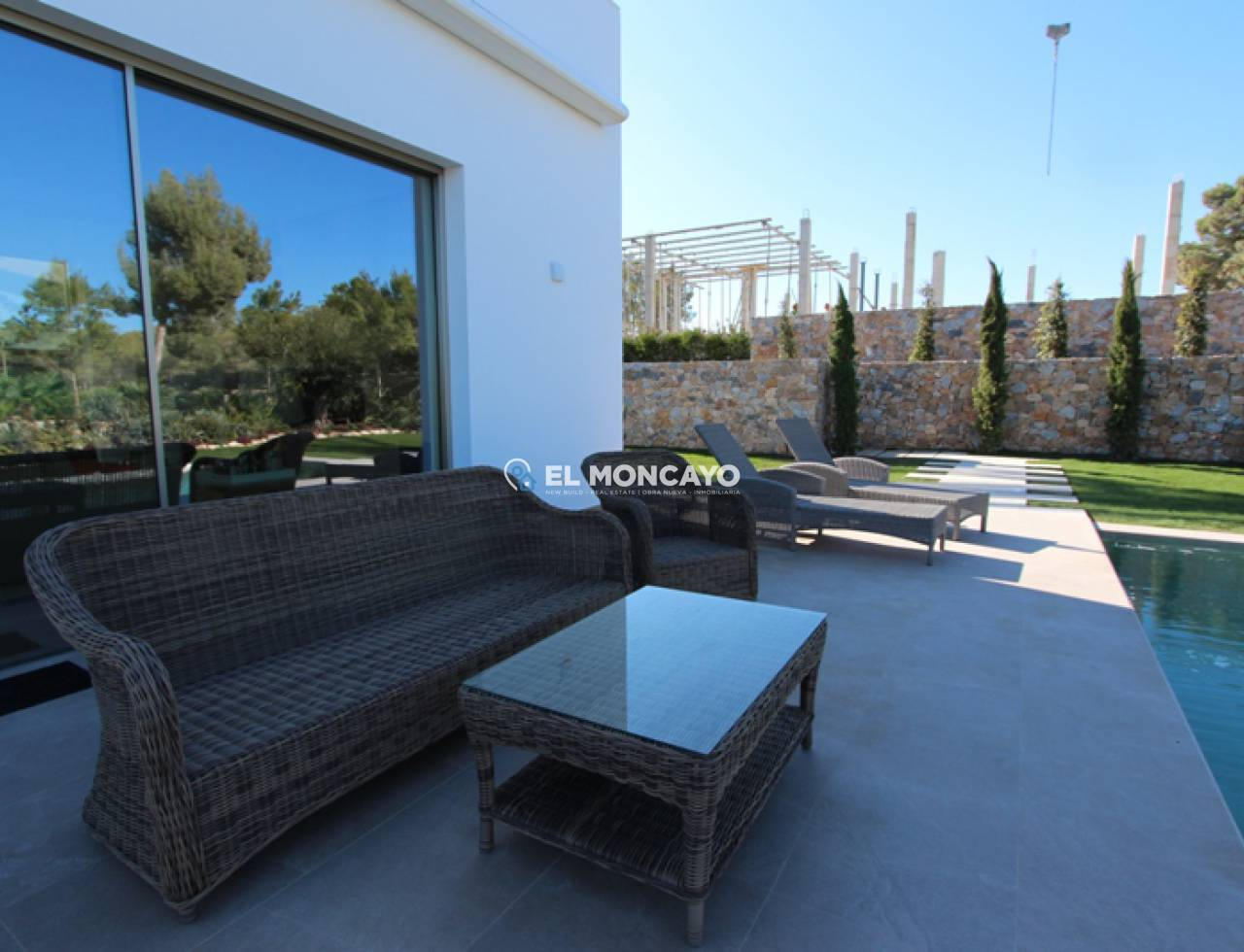 New build villa in Orihuela Costa - Villamartin - Golf course (5)