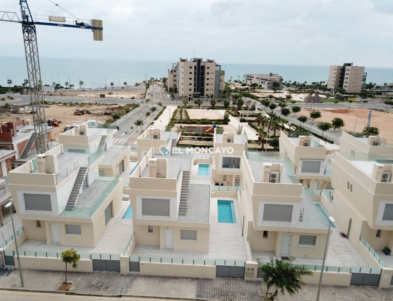 New build - Villa - Orihuela Costa - Mil Palmeras