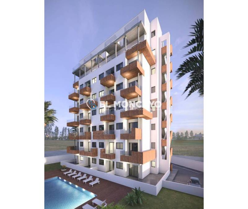 Penthouse - New build - Guardamar del Segura - SUP 7 - Sports Port