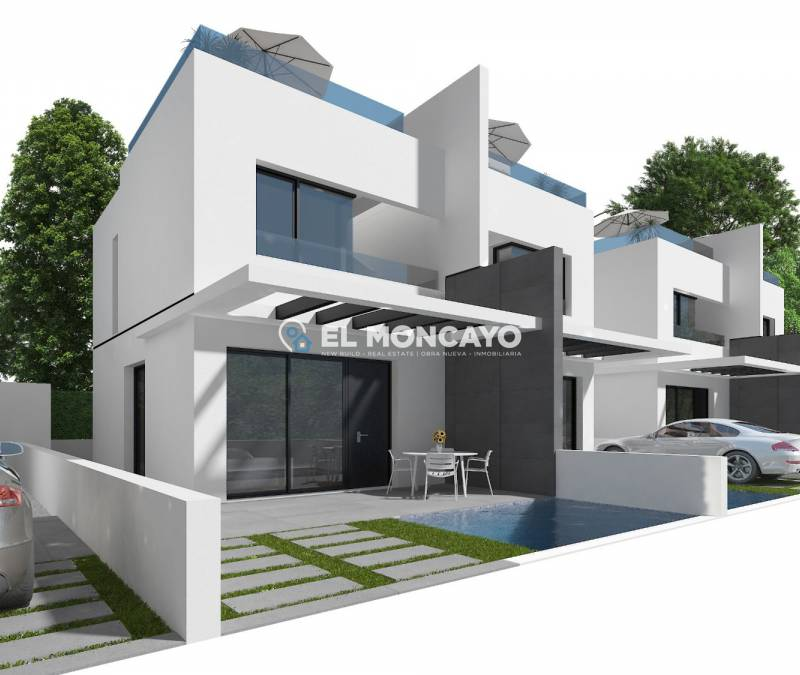 Semi Detached House - Neubau - Orihuela Costa - Villamartin