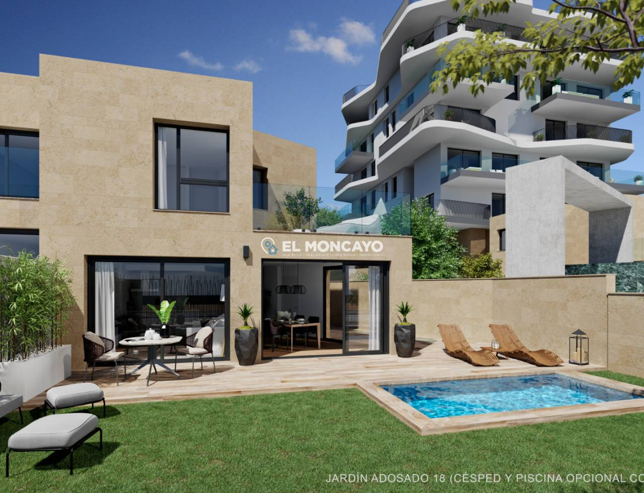 Town House - New build - Villajoyosa - Villajoyosa
