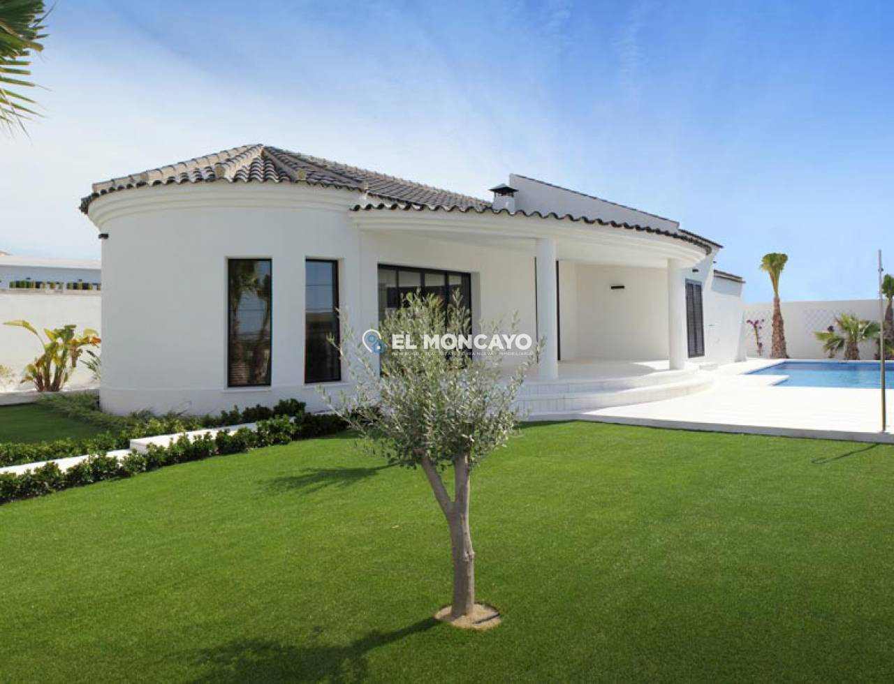 Villa new construction to 4 km from the beach (3)