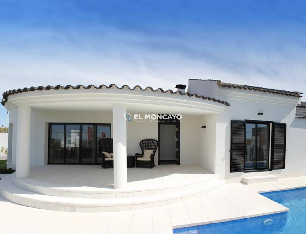 Villa new construction to 4 km from the beach (5)