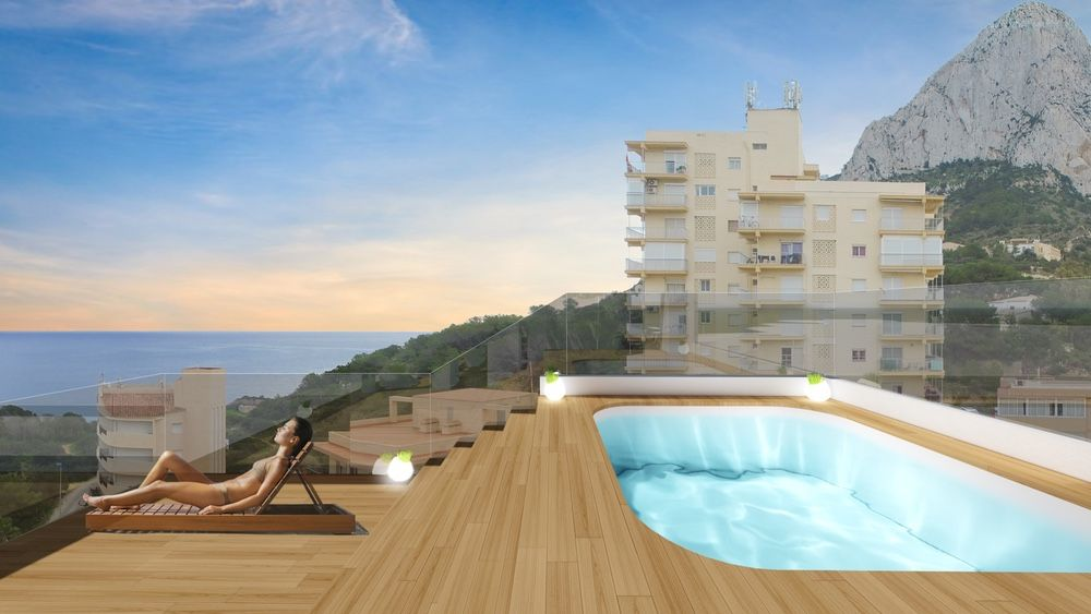 Ref:NBP670 Apartment For Sale in Calpe
