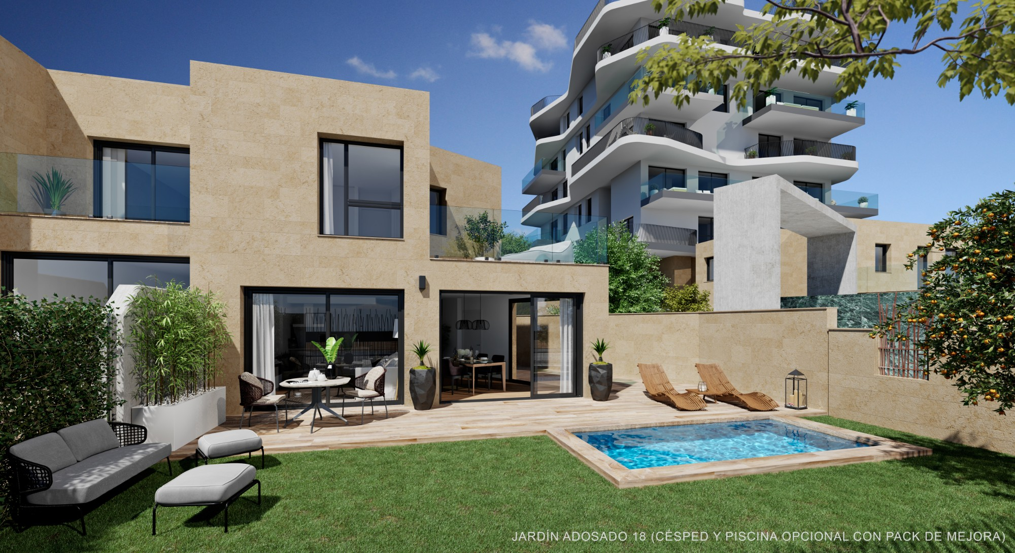 Ref:NBP772 Townhouse For Sale in Villajoyosa
