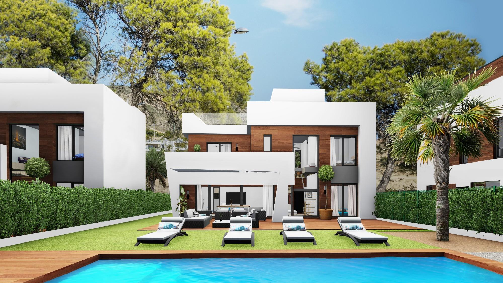 Ref:NBP802 Villa For Sale in Finestrat
